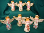 Rosemaling Angel Ornament Packet