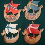 Viking Ship Ornament Packet