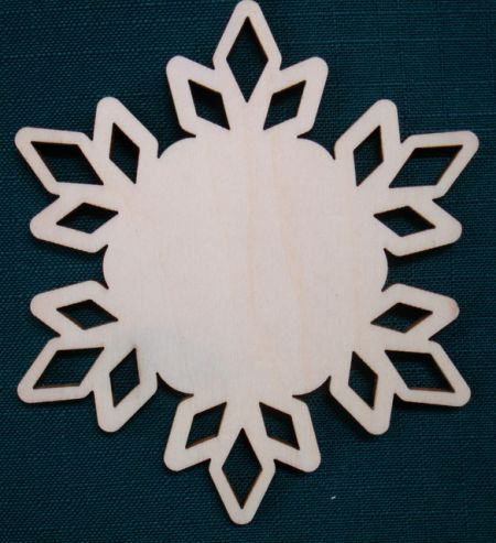 4 Inch Royal Snowflake
