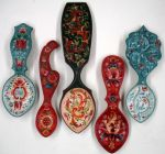 Rosemaling Spoon Sampler E-Packet