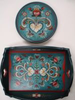 Hordaland Heart Tray and Plate Packet