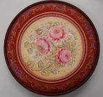 Rose Plate 10 Inch Original Painting