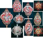 Rosemaling Ornament Collection Packet