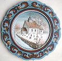 Bykle Church Plate Pattern Packet