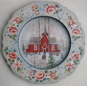 Bagn Church Plate Pattern Packet