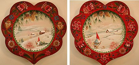 ** Nissen Christmas Plates (Os) Pattern Packet