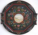 Os Octagon Tray with Landscape Pattern Packet