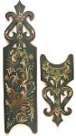 Rococo Door Escutcheon Pattern Packet